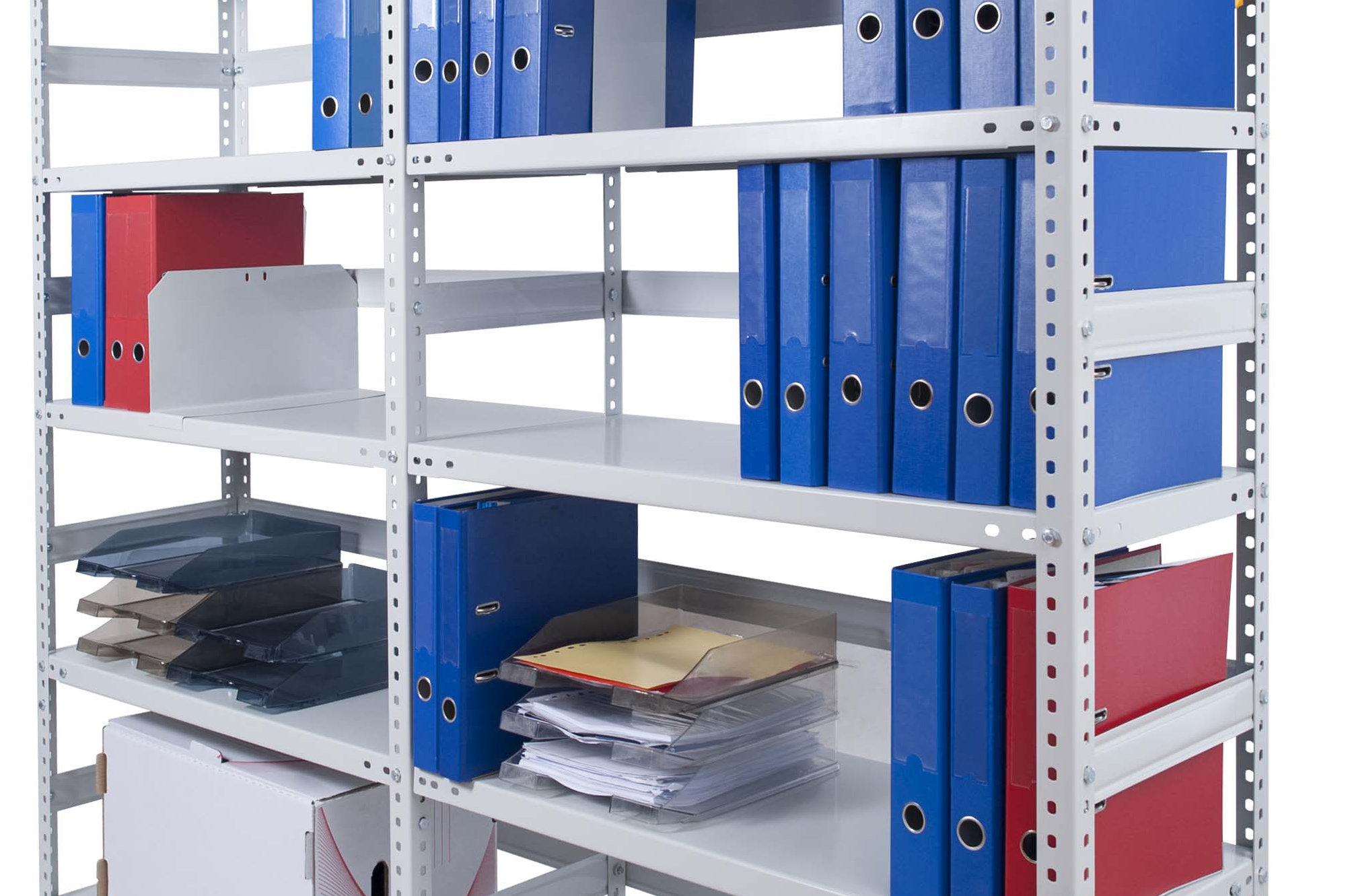 Regały archiwizacyjne produkcji firmy Met-Baj z Rzeszowa