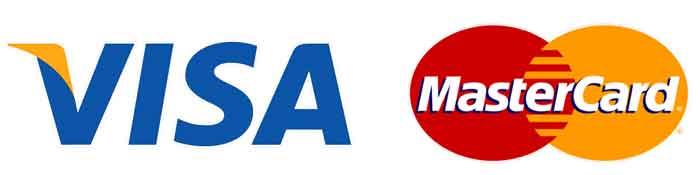 Akceptujemy płatności kartami płatniczymi Visa i MasterCard